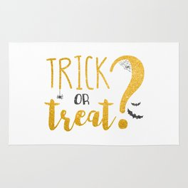Trick Or Treat? | Glitter Rug