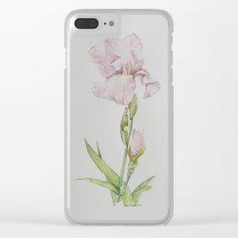 Lonnie's Iris Clear iPhone Case
