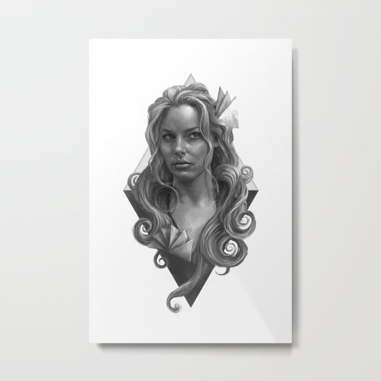 Britta Metal Print