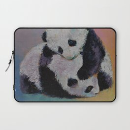 Baby Panda Rumble Laptop Sleeve