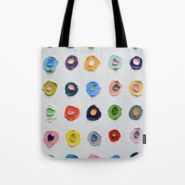 Concentric Polka Daubs Tote Bag