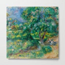 "Pierre-Auguste Renoir ""Le Béal"" Metal Print"