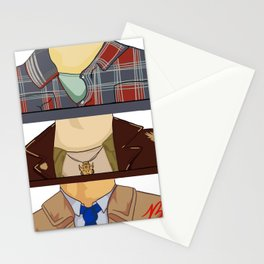 Sam, Dean, and Castiel (Supernatural)(Unofficial) Stationery Cards