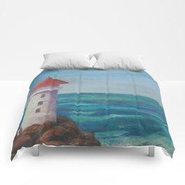 The Lighthouse Rocks AC151208c-12 Comforters