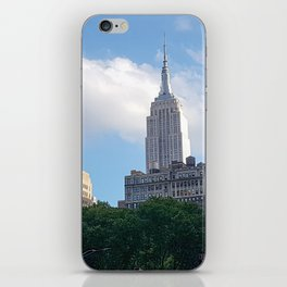 Empire State Building from Bryant Park iPhone Skin