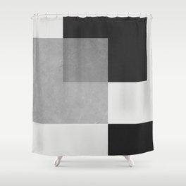 Modern geometry V Shower Curtain