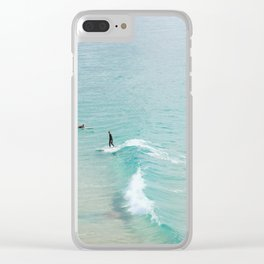 Byron Bay Clear iPhone Case