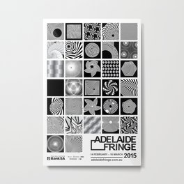 Adelaide Fringe (My Submission) Metal Print