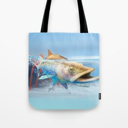 Snook in the Mangroves Tote Bag