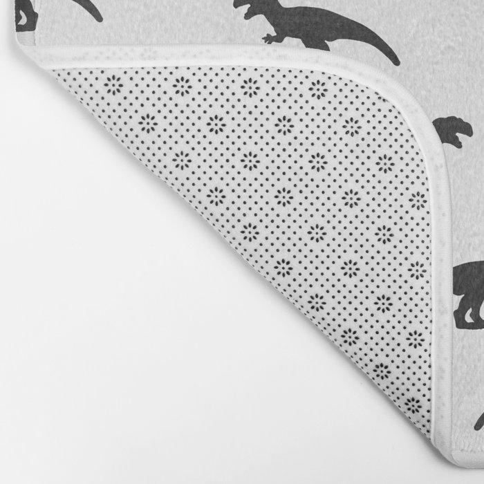 T-Rex Pattern Bath Mat