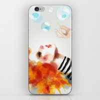 pin up iPhone & iPod Skins featuring Pin by Dnzsea