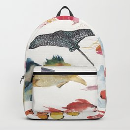 Fishy gathering Backpack