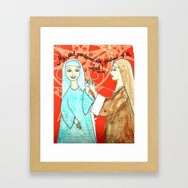 The Visitation Framed Art Print