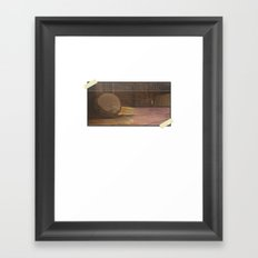 Sounds in the Attic Framed Art Print