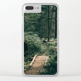 Happy Trails XV Clear iPhone Case