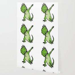 Funny Dabbing Iguana Reptile Dab Dance Wallpaper