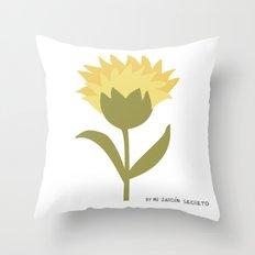 FLOR 4 Throw Pillow