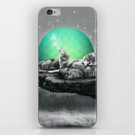 Echoes of a Lullaby / Geometric Moon iPhone Skin