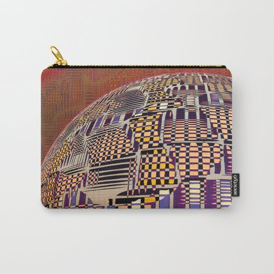 Atlante 10-06-16 / RETICULAR SURFACE Carry-All Pouch