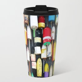 "Captured Photography Salt Series ""Buoys"" Travel Mug"