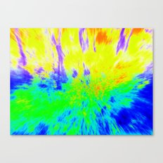 The Hippy Shake Canvas Print