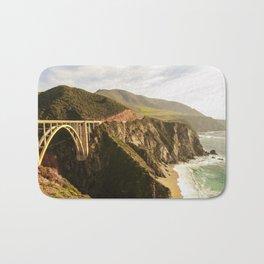 Bixby Bridge Big Sur California Pacific Coast Highway 0575 Bath Mat