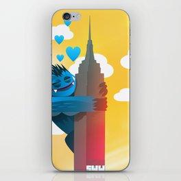 Monster Love Building iPhone Skin