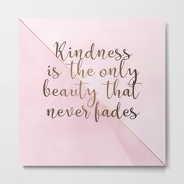AFE Kindness Metal Print