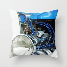 Hotrod Throw Pillow