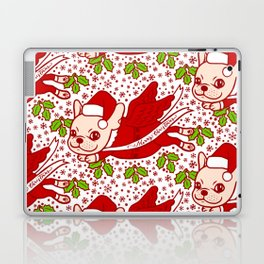 Christmas with a Frenchie Laptop & iPad Skin