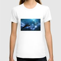 ships T-shirts featuring Ships in Space by spacemonkey89