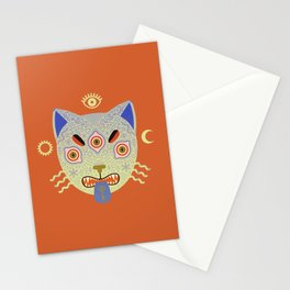 Mystic Cat Stationery Cards