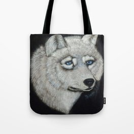 Grey Wolf Collection Tote Bag