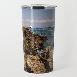 Rocks in Palma de Mallorca Travel Mug