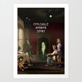 Coolsville Horror Story Art Print