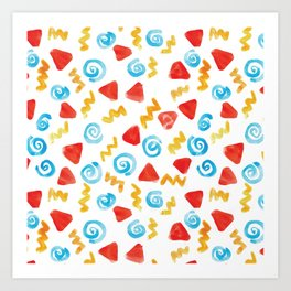 Swirl Pattern! Art Print