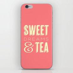 Sweet Dreams & Tea iPhone & iPod Skin