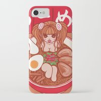 ramen iPhone & iPod Cases featuring Ramen by EMIRI