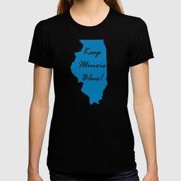 Keep Illinois Blue! Proud Vote Democrat Liberal! 2018 Midterms T-shirt