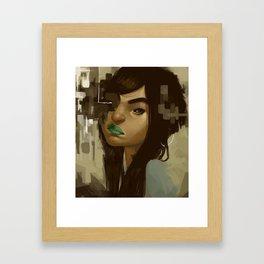 smudge Framed Art Print