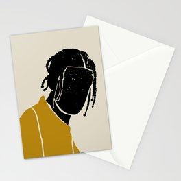Black Hair No. 1 Stationery Cards