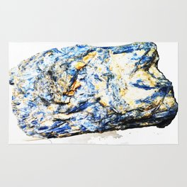 Kyanite crystall Gemstone Rug