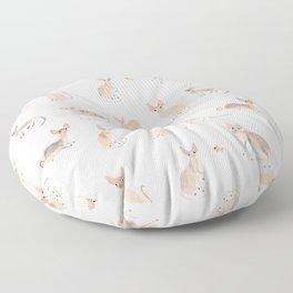 Sphynx Cats Floor Pillow