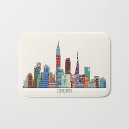 Cleveland city  Bath Mat