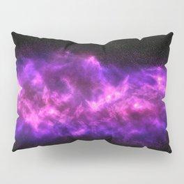 Pink Galaxy Pillow Sham
