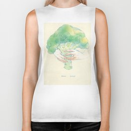 Broccoli bouquet Biker Tank