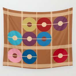 Counting Donuts Wall Tapestry