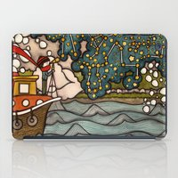 constellations iPad Cases featuring Constellations by Love on a Bike