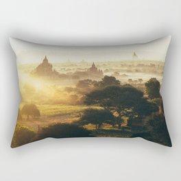 Bagan Pagodas Rectangular Pillow