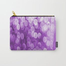 Bokeh Light Purple Tone #decor #society6 #buyart Carry-All Pouch